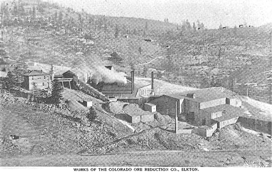 This quite bad view shows how the Arequa Mill expanded over the years. Appearing in an 1898 book this must been photographed before that time, and being said to have been erected around 1896/1897 they clearly in this view is in the process of being expanded. In the background is the hill separating this area from the area where Victor & Lawrence is located. I wish I had this a clear good photograph as that hill has some needed info hidden away from my view.