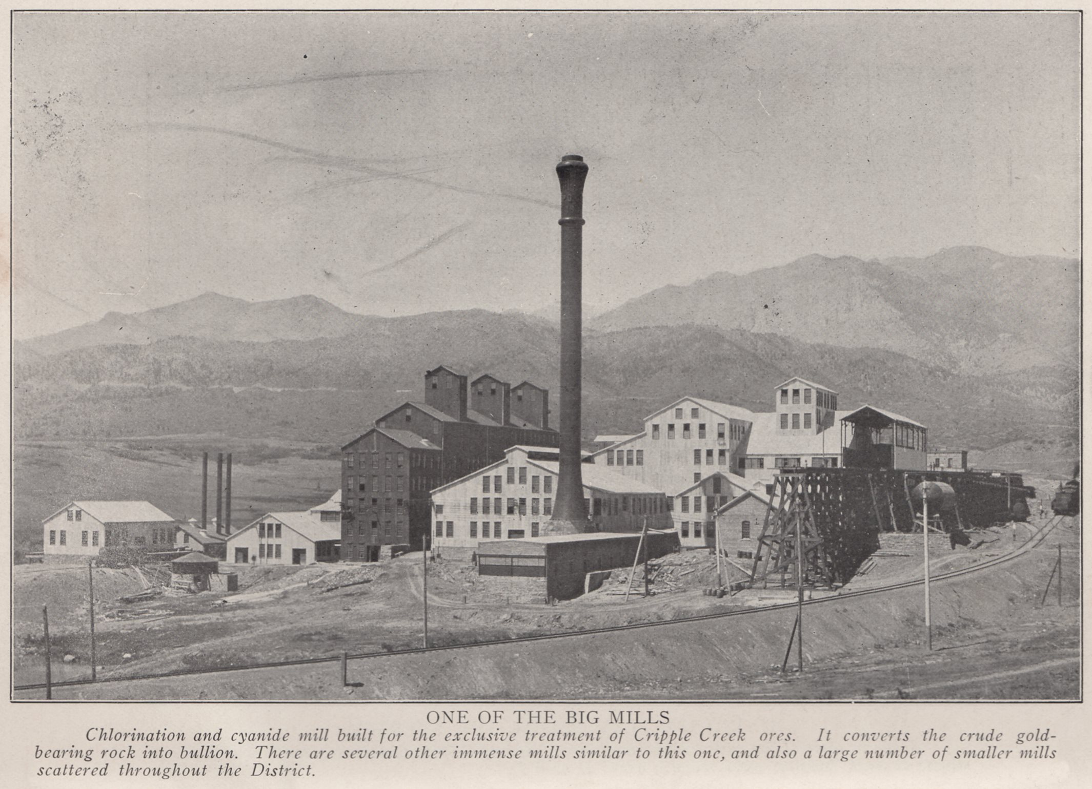 One of the Big Mills. Portland Mill at Colorado Springs