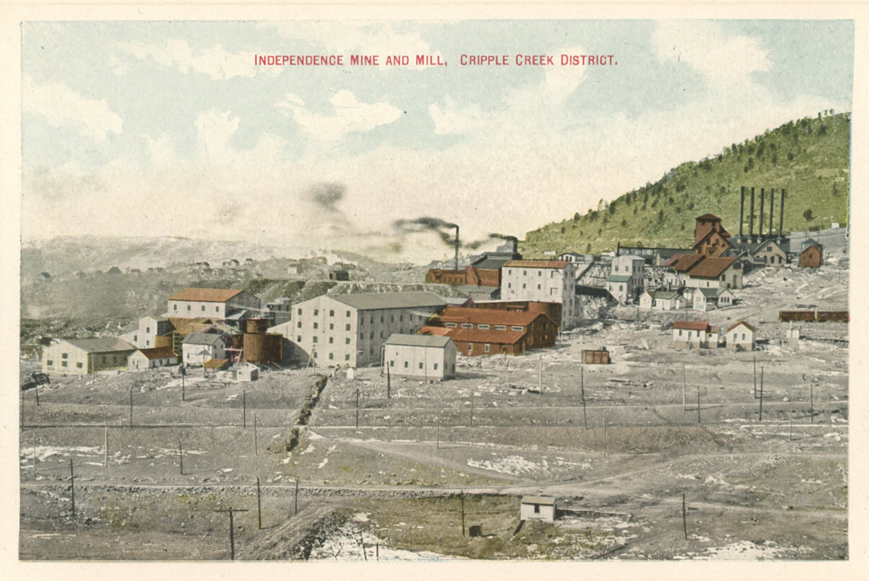 Independence Mine and Mill, Cripple Creek District.