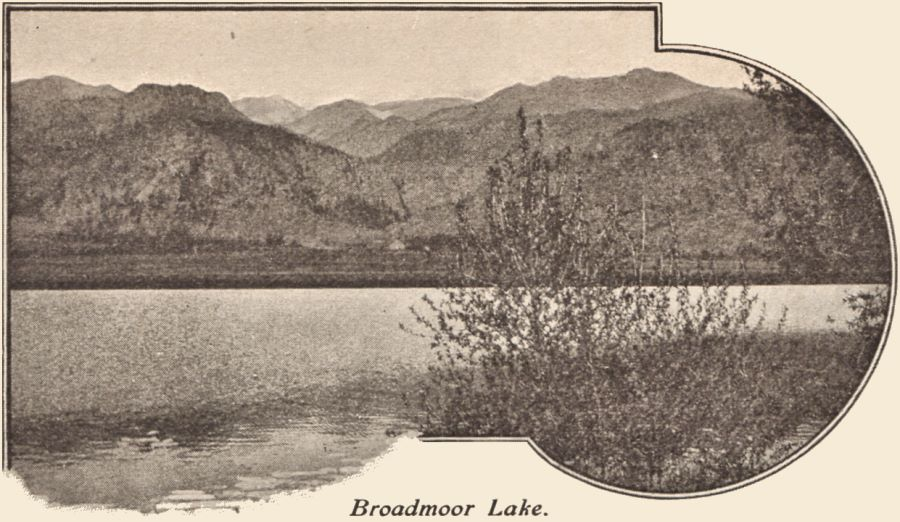 View of Lake Broadmoor