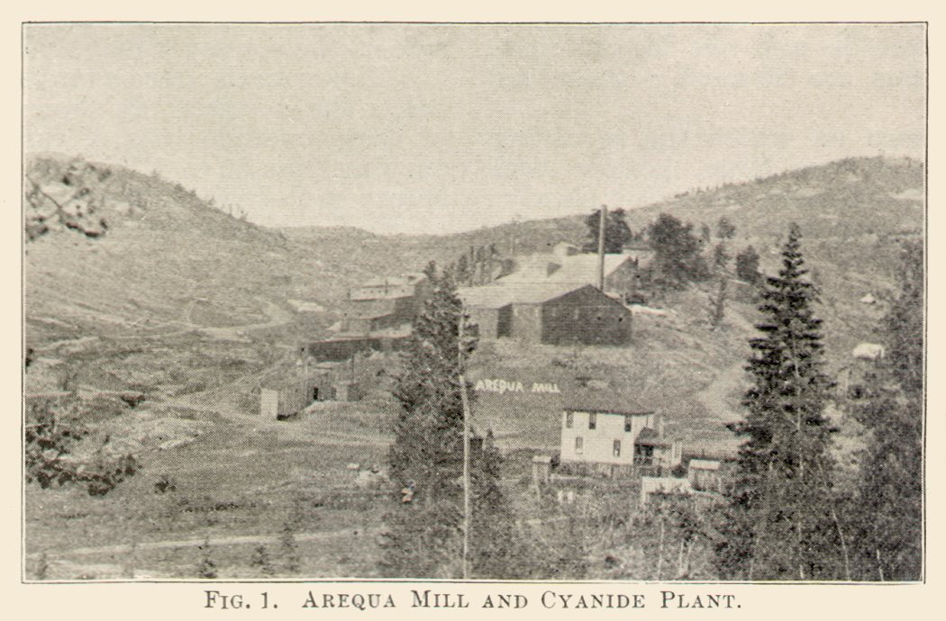 Arequa Mill and Cyanide Plant.