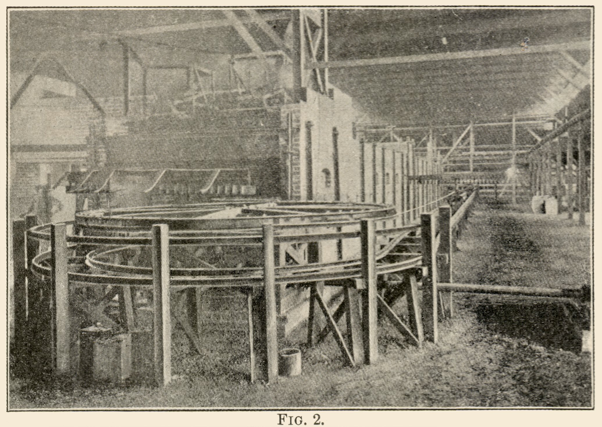 Interior View at the Arequa Mill and Its Cyanide Plant.